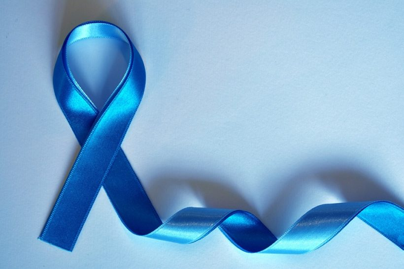 ruban bleu cancer